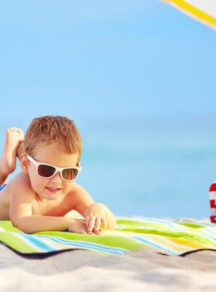 Ile czasu działa krem z filtrem na skórze dziecka?