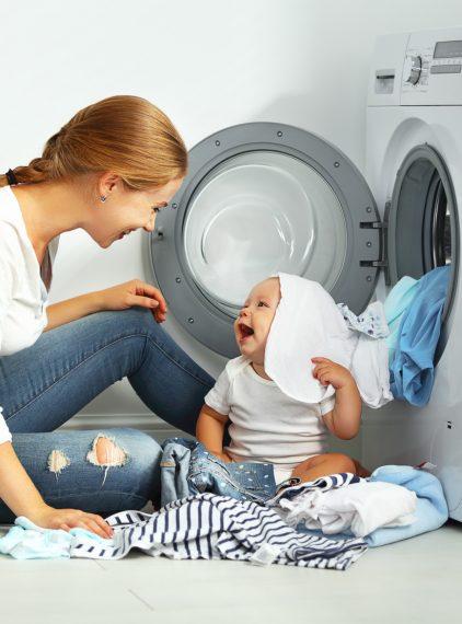 Jak prać dziecięce ubranka?