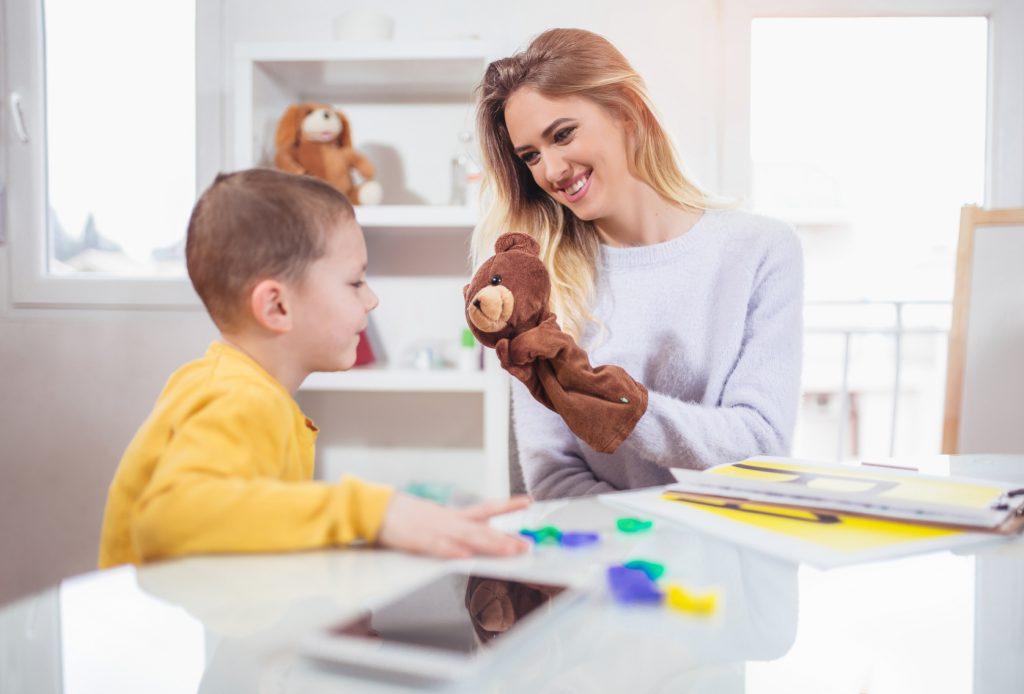 Terapia dziecka z mutyzmem