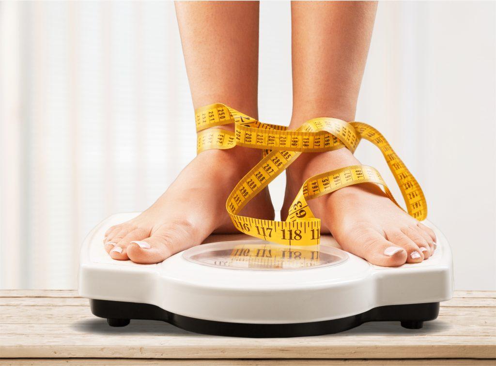 Sprawdzanie wagi ciała