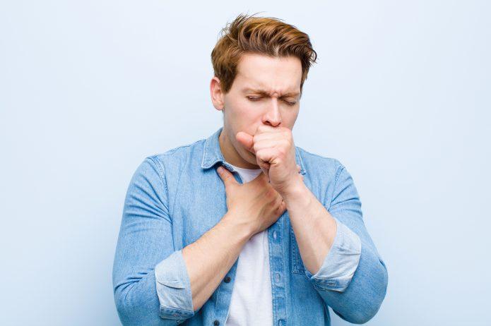 Mężczyzna z astmą